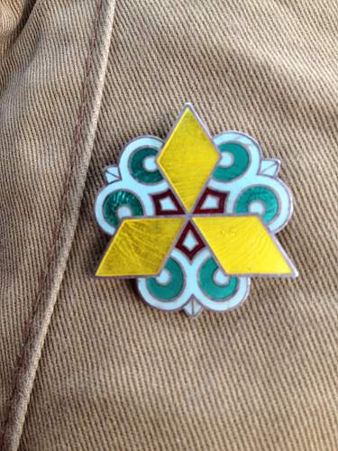 Unknown Japanese Badge???