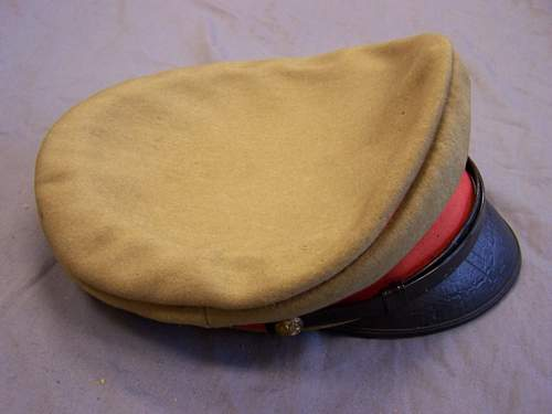 Japanese army officers hat?