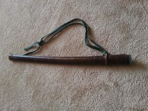 Japanese WW2 Sword - NCO?