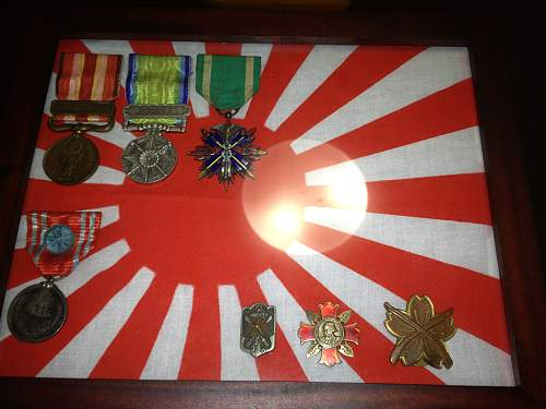 My Fledgling Japanese Medal Collection