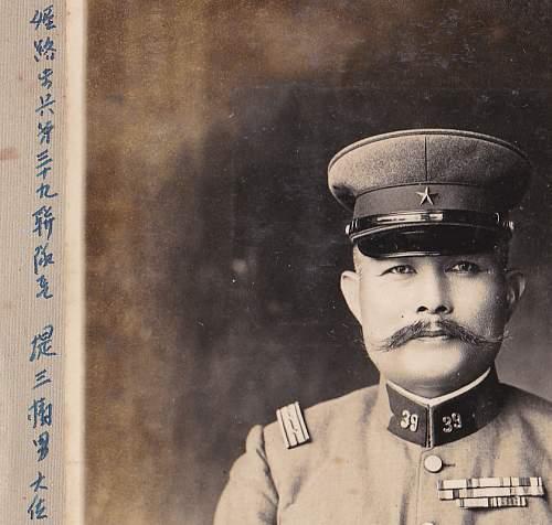Identifying/translating Photograph Lieutenant General wit captions