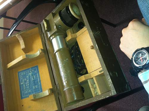 Japanese WWII Optical Relic Identification