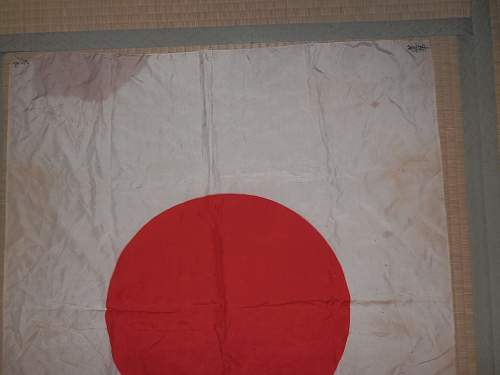 Help identifying  this Japanese Flag please