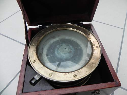 Japanese ships compass?