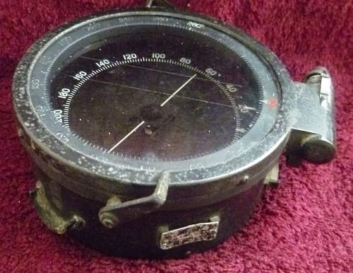 Vehicle or Aircraft Compass.  Or what??