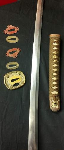 Information about sword please.WW2 Officer sword.