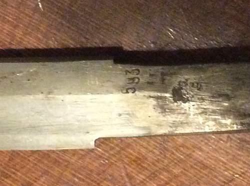 Japan sword ID