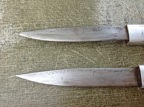 Japanese fighting knife