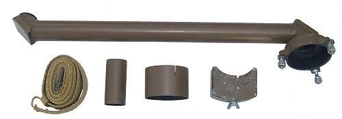 Japanese Optics - Type 98 light (weight) Theodolite Periscope