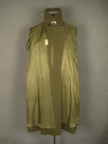 New Addition: IJA Type 98 Officer's Coat