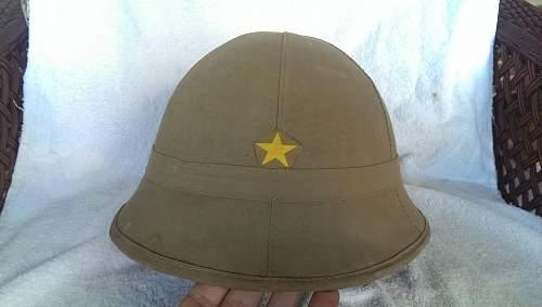 Japanese Sun Helmet