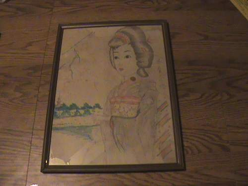 Japanese POW art
