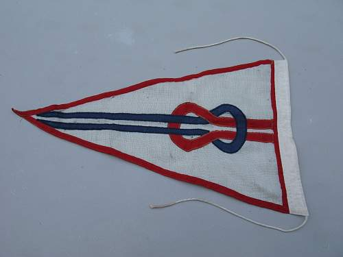Unknown Navy flag or pendent. Military?