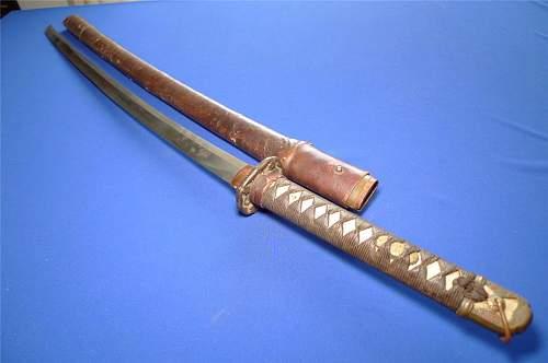 ww2 japanese officer sword?