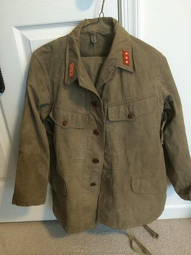 Need some help Japanese Uniform