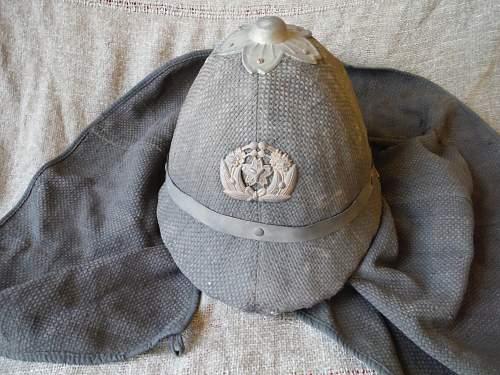 Japanese civilian fire helmet