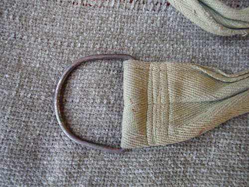 Japanese haversack and shoulder straps