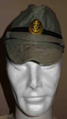 IJN Officers for Landing force cap