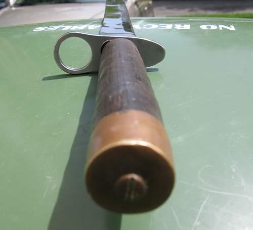 Japanese Bayonet?