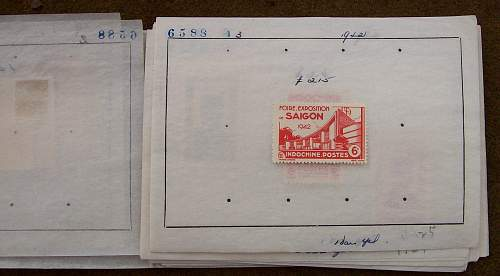 Indo China Occupation Stamps