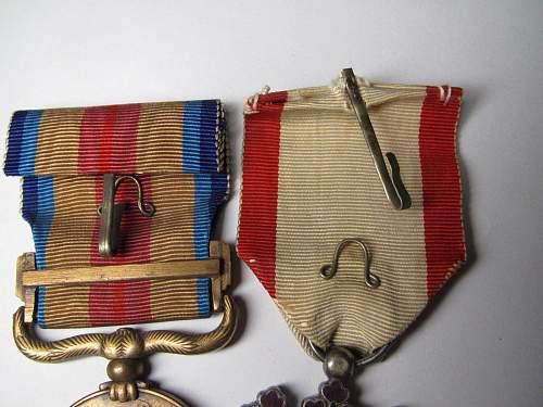 original Japanese medals?
