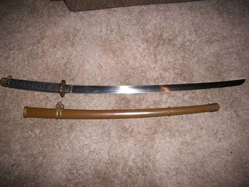 Fake or Aint Japanese NCO Sword