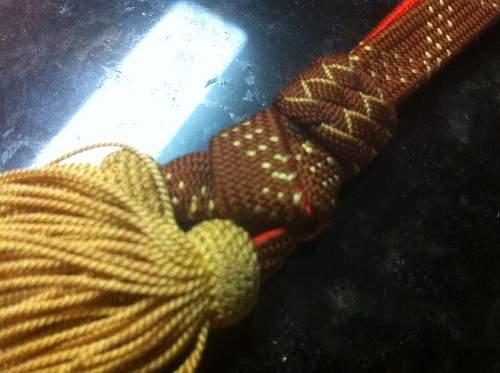 IJA General sword tassel