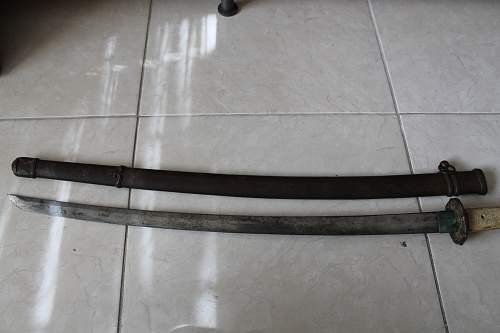 Japanese Samurai? Sword Signed, Need to ID