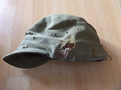 Fea market find British Vet bring back Japanese hat