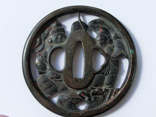 Click image for larger version.  Name:Tsuba front.jpg Views:74 Size:320.1 KB ID:761640