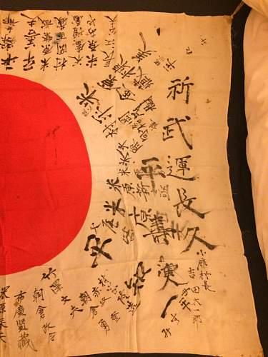 Help with Hinomaru Yosegaki