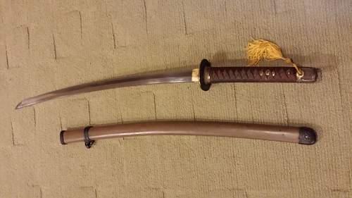 unknown  sword