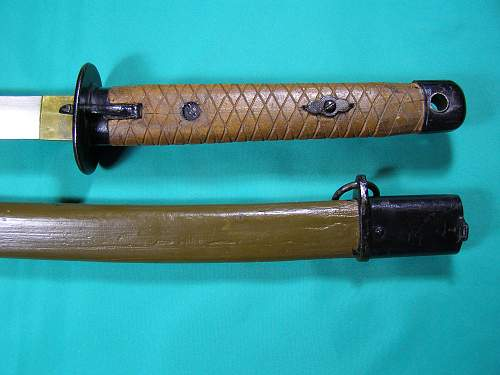 Fake Late War Wooden Handle NCO Sword