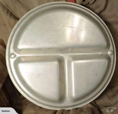Question WWII Japanese mess plate/tray???