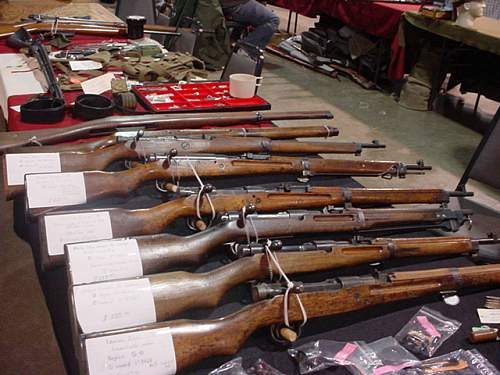 Japanese Rifles & parts for sale