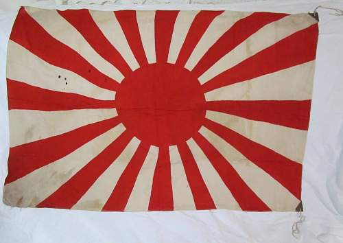 Is this Japan Rising Sun Flag authentic?