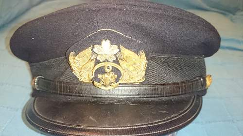 My imperial japanese naval caps