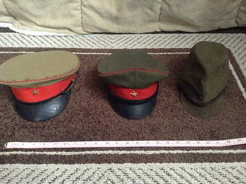 Japanese WW2 hats/cap, real or fake?