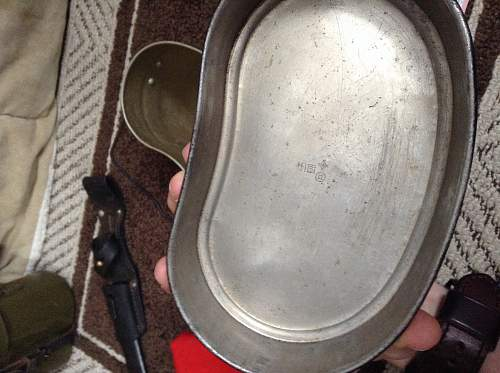 Japanese WW2 mess tin?