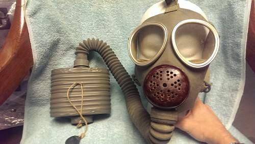 Type 93 - Model 2 Japanese Gas Mask