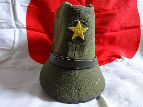 My new field cap for review