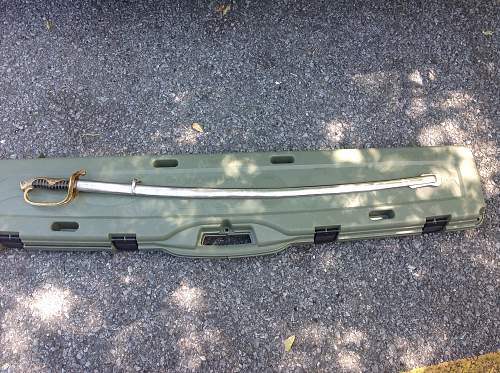 Japanese army parade sword/saber
