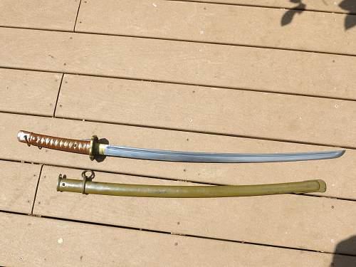 2 Japanese swords