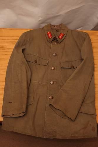 Unissued japanese uniforms