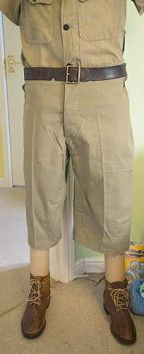Japanese tropical trousers