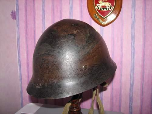 My latest Japanese type 90 helmet