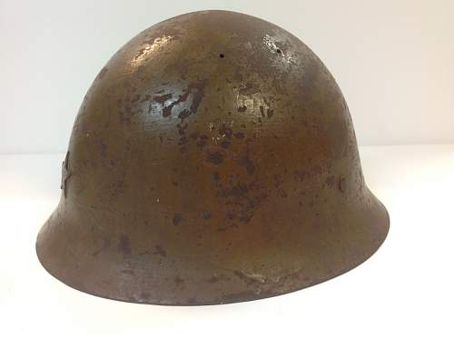 Type 90 IJA named helmet