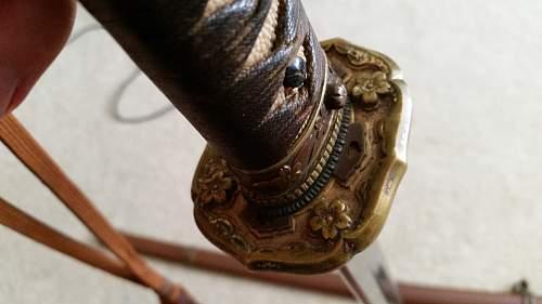 WW2 Samurai Sword Katana Help!!
