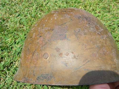 Please help - wwii japanese helmet - authentic?
