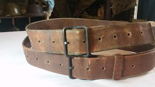 Two IJA Ammo Belts for Comparison